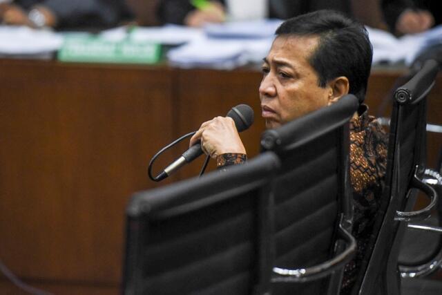 Novanto Minta Hak Politiknya tak Dicabut
