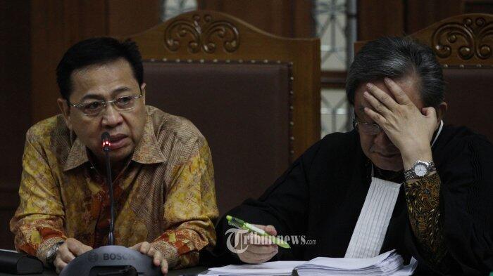 Sebut Sejumlah Nama, Setya Novanto Sadari Banyak Cacian yang Dialamatkan ke Dirinya