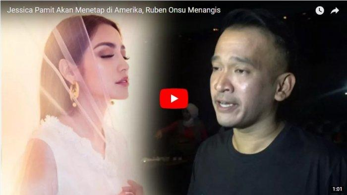 Jessica Pamit Akan Menetap di Amerika, Ruben Onsu Menangis