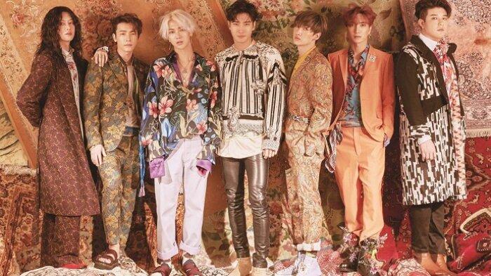 Comeback dengan 'Lo Siento', Yuk Lihat Perbedaan Super Junior Kini dan 13 Tahun Lalu!