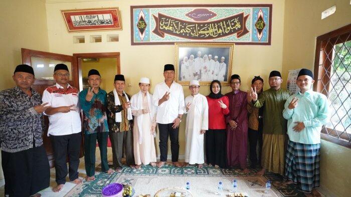 Programnya Berpihak Pada Umat, Ketua PC NU Cianjur Doakan Hasanah