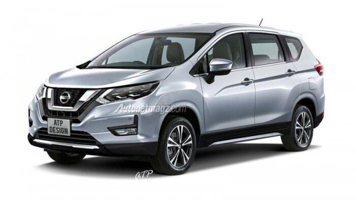 Nissan Grand Livina Berbasis Xpander Bakal Diproduksi di Indonesia