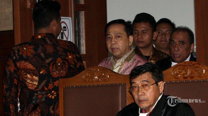 Jaksa KPK Tolak Seluruh Pembelaan Setya Novanto dan Kuasa Hukumnya