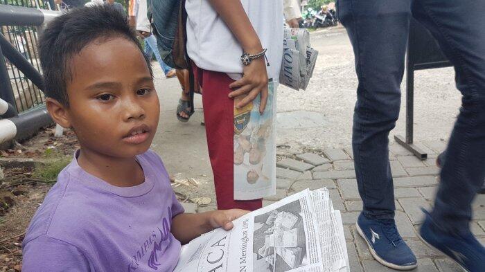 Kisah Haryo, Bocah Kelas 4 SD di Jakarta yang Berjualan Koran Demi Bantu Ibunya