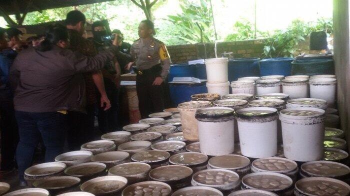 Pabrik Tahu Berformalin di Kelurahan 8 Ilir Palembang Digerebek