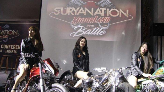 Seri Perdana Suryanation Motorland 2018 Digeber di Kota Palembang