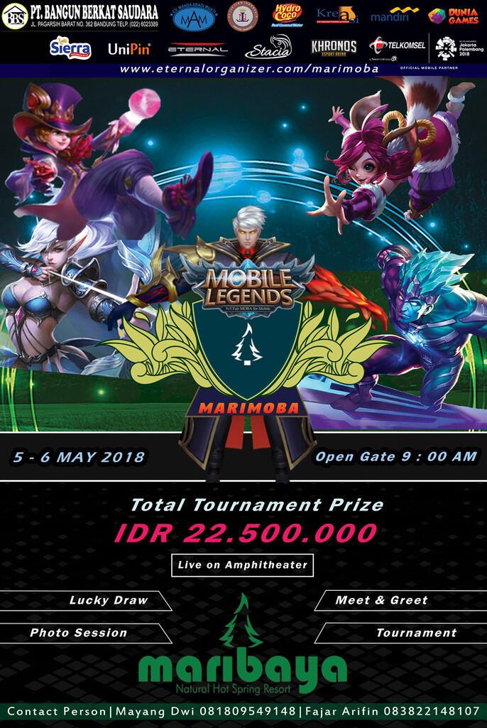 Eternal Marimoba Mobile Legends Tournament 2018