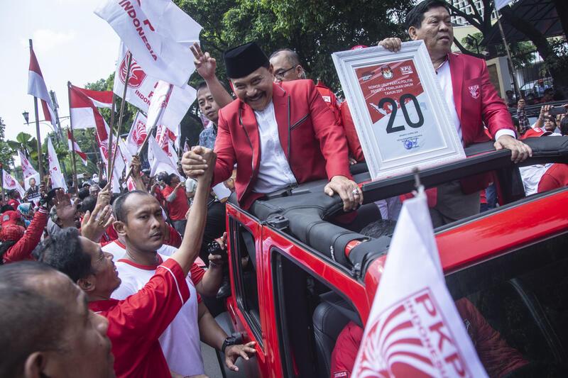 Momen Haru Saat AM Hendropriyono Putuskan Hengkang dari Dunia Politik