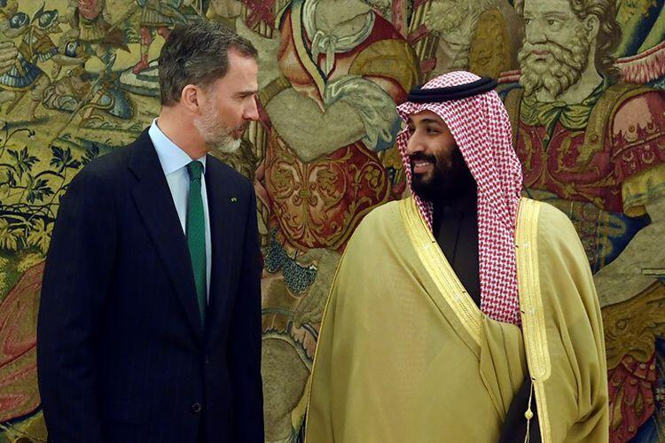 Bertemu Raja Spanyol, Putra Mahkota Saudi Nego Pembelian Kapal Perang.