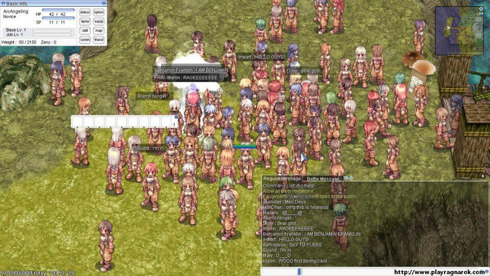 [COC] Kisah Cinta Tertipu Hode Ragnarok Online ( MEWEK )