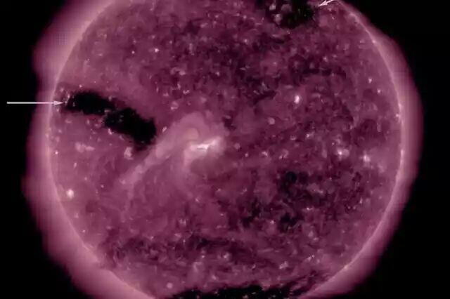 Muncul Tiga Lubang Baru di Matahari, Seberapa Bahayanya Bagi Bumi?