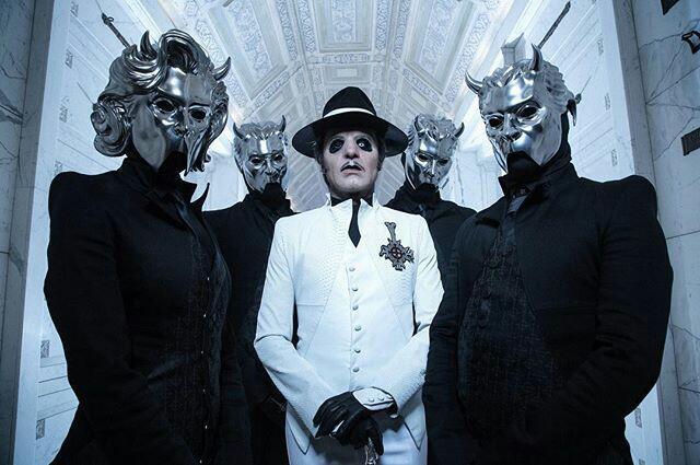 "Ghost Rilis Lagu Baru ""Rats"", Pengumuman Album Dan Vokalis Baru Cardinal Copia"