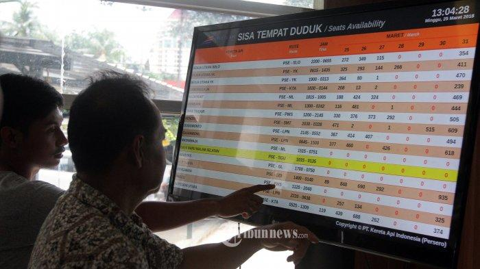 Mulai Senin PT KAI Daop 2 Bandung Jual 2.184 Tempat Duduk KA Tambahan
