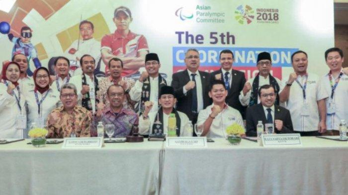 INAPGOC Gelar Coordination Commission Meeting Asian Para Games 2018