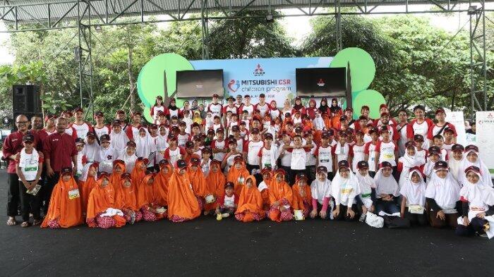 Berbagi Kebahagiaan dan Keceriaan dalam Mitsubishi CSR Children Program