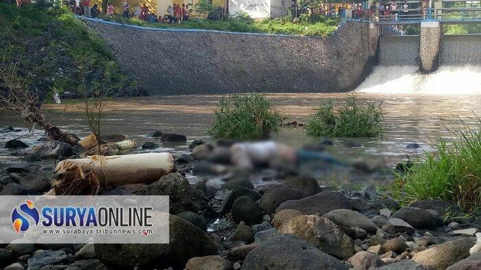 Mayat Wanita Berkebaya Ditemukan Sungai