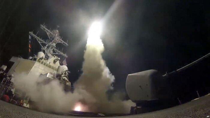 BREAKING NEWS: Amerika Cs Mulai Gempur Suriah, AS dan Rusia di Ambang Perang Terbuka