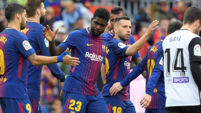 Barcelona Kalahkan Valencia 2-1: Coutinho Cetak Dua 'Assist'