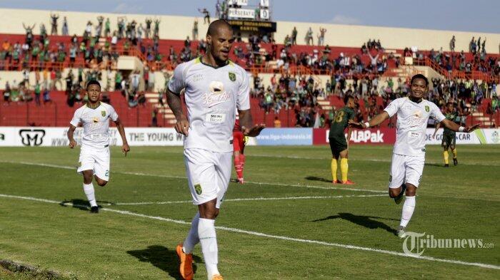 David da Silva Top Scorer Sementara Liga 1 Setelah Cetak Hattrick buat Persebaya