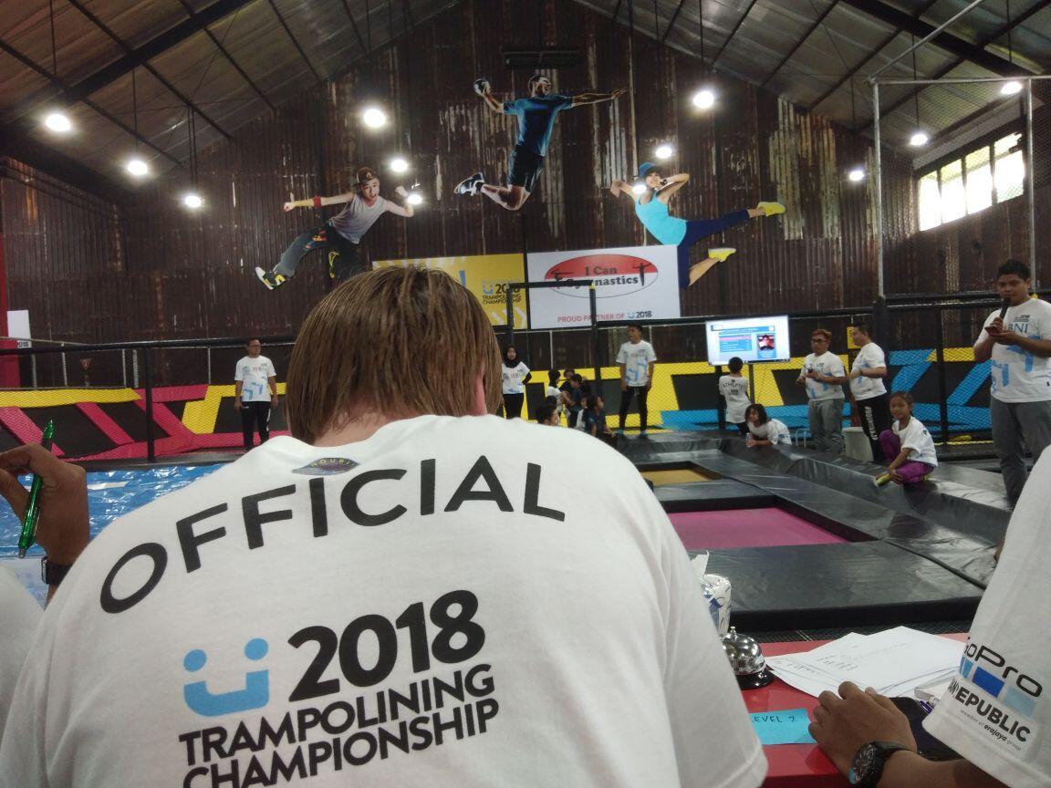 Dari Persiapan Cabang Trampoline, hingga Sekarang Belum Ada Atlet Pro Indonesia