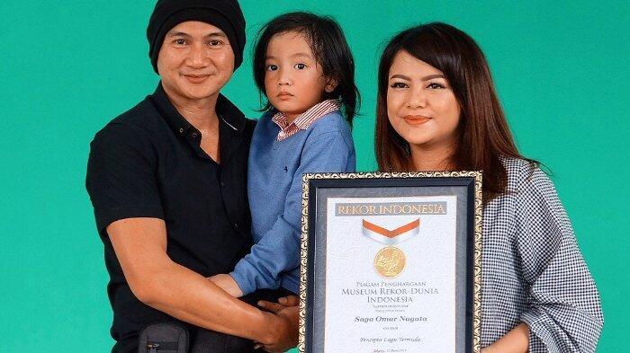 Lagu 'Telur Dadar' ciptaan Saga Anak Anji Buatnya Pecahkan Rekor MURI