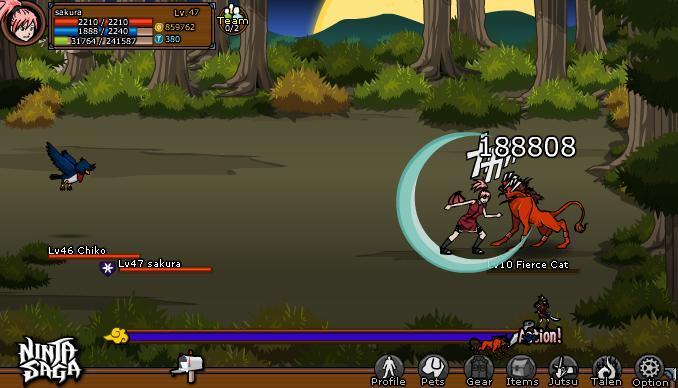 (COC) Ninja Saga Jalan Ninjaku
