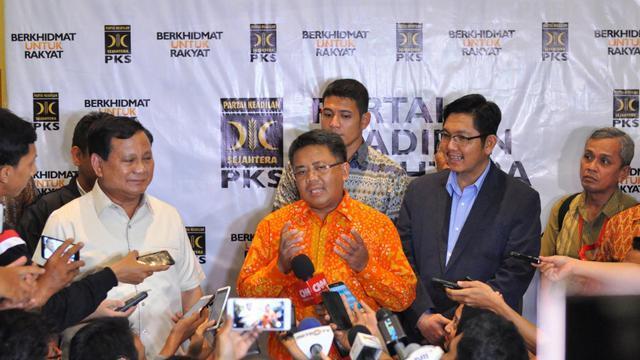 Sohibul: Kami Berkoalisi dengan Prabowo Asal Cawapres dari PKS