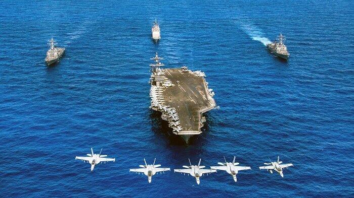 Mengenal Carrier Battle Group, Armada Amerika Serikat yang Menyerang Suriah