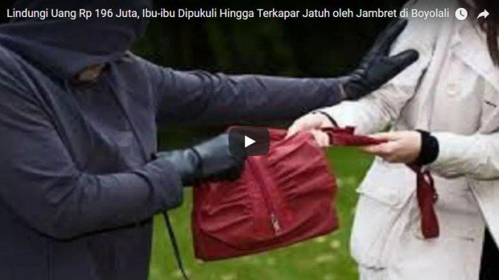 Apes, Jambret di Malang Ini Hanya Dapat Segebok Uang Mainan Anak-anak