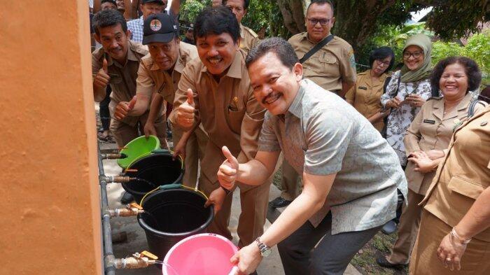 STP Bangun Fasilitas Air Bersih untuk Warga Tambun Raya