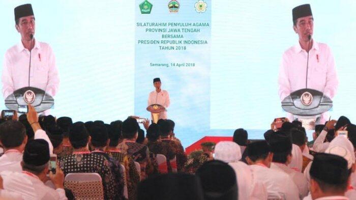 Sebutkan 17.000 Pulau Indonesia, Penyuluh Agama Dapat Sepeda Paling Mahal dari Jokowi