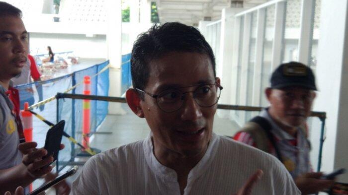 PKS Sodorkan Nama-nama untuk Cawapres Prabowo, Sandiaga: Kita akan Tampung