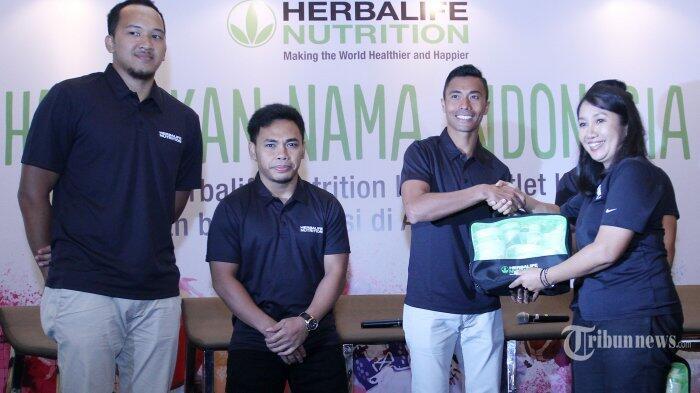 Herbalife Nutrition Indonesia Sediakan Asupan Nutrisi Bagi Atlet