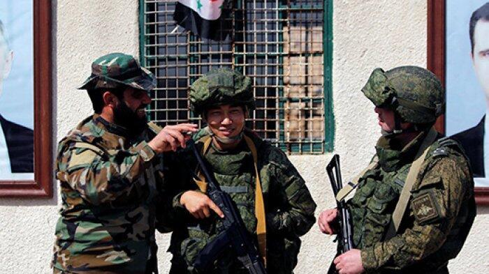 Markas Militer Iran di Suriah di Bom Pesawat Tempur Tak Dikenal