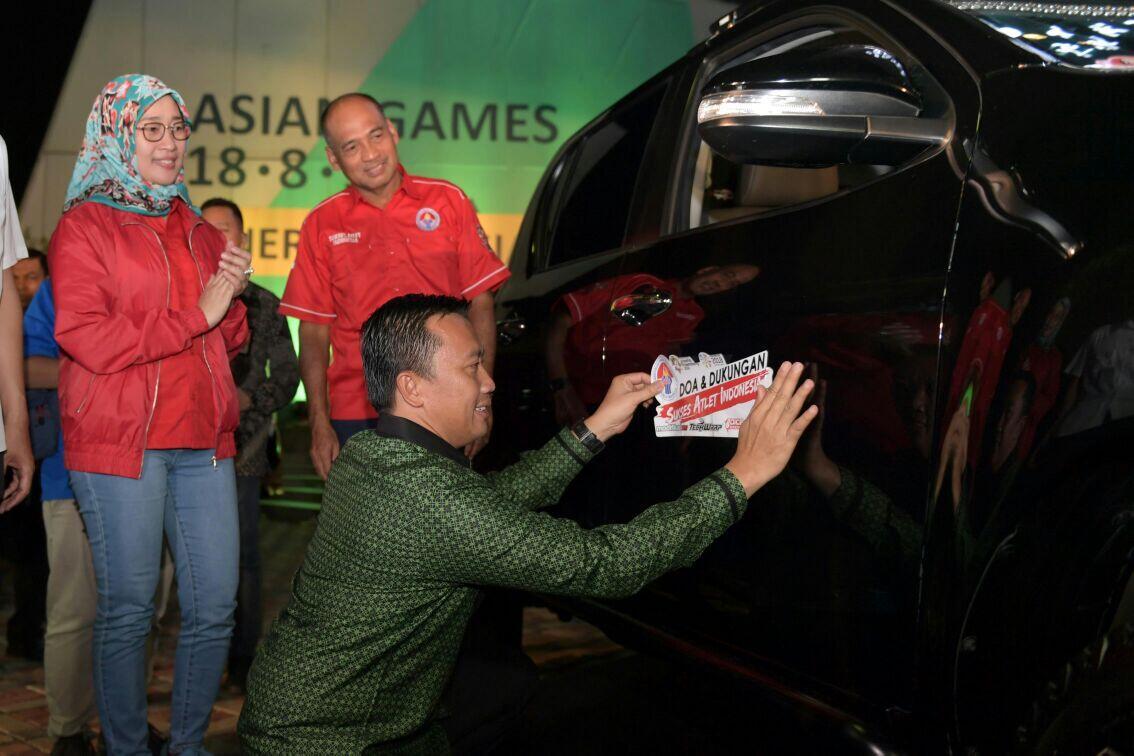 120 Komunitas Otomotif Gelorakan Semangat Asian Games-Asian Para Games
