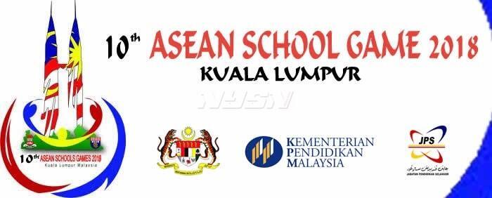 Ikuti 8 Cabor di Asean Schools Games X Malaysia 2018
