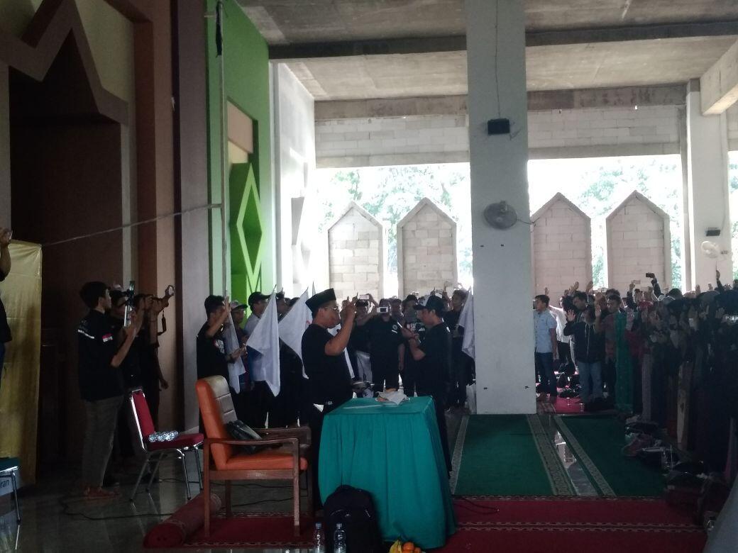 Hadiri Deklarasi Indonesia Tanpa Pacaran, Aktor Cholidi Berbagi Tips Nikah Muda