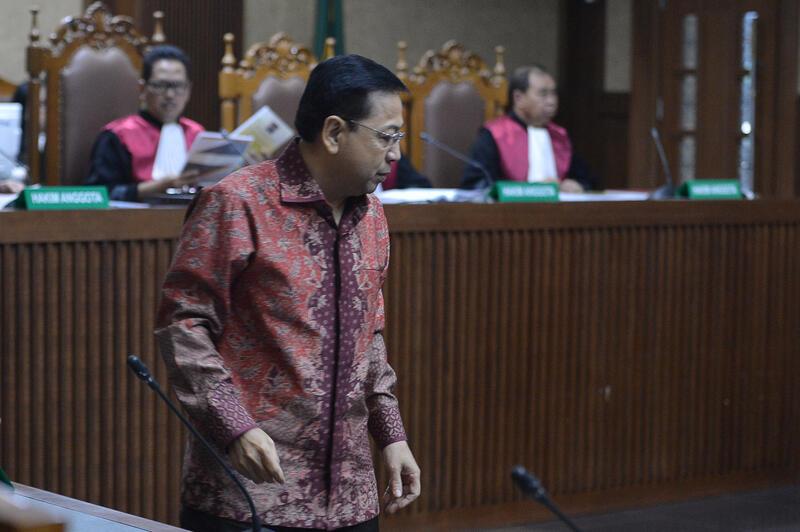Kuasa Hukum Meminta Agar Majelis Hakim Membebaskan Setya Novanto