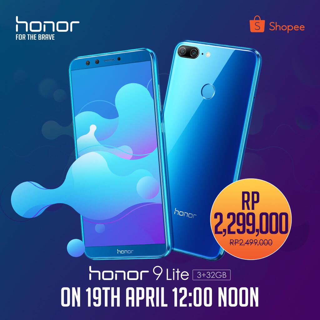 Siap-siap untuk Flash Sale ke 2 Honor 9 Lite !!!