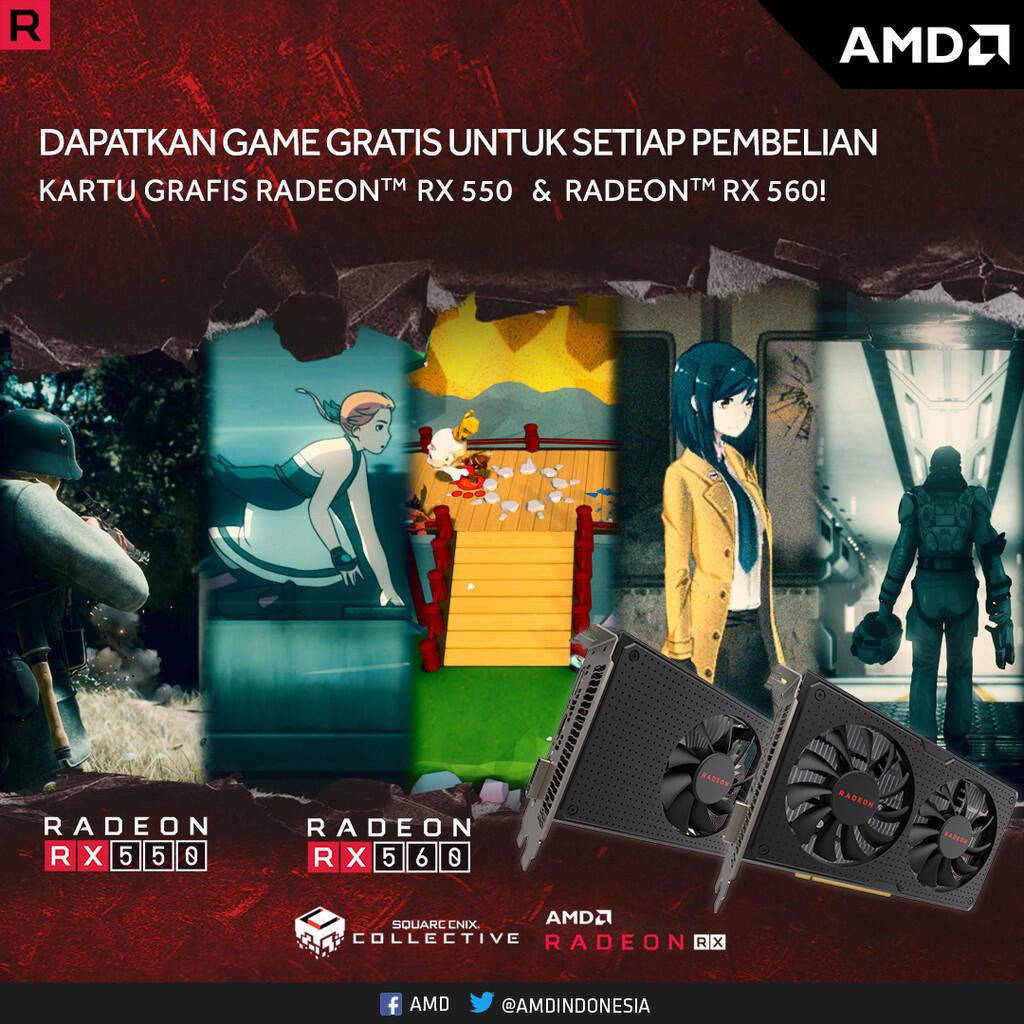 Ini Dia Beragam Keuntungan Gunakan Kartu Grafis Radeon RX 550 & RX 560!