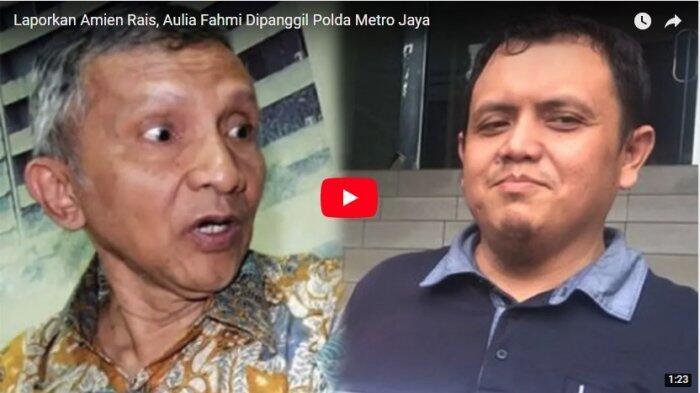 Laporkan Amien Rais, Aulia Fahmi Dipanggil Polda Metro Jaya