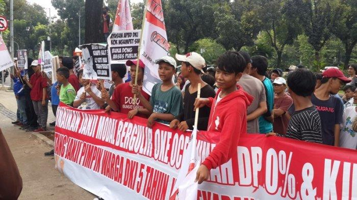 Anak Dibawah Umur jadi Peserta Aksi FAM JAYA di Depan Balai Kota DKI Jakarta