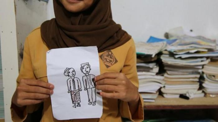 Siswi SMP yang Ngebet Nikah Ternyata Siswi Berprestasi di Sekolah