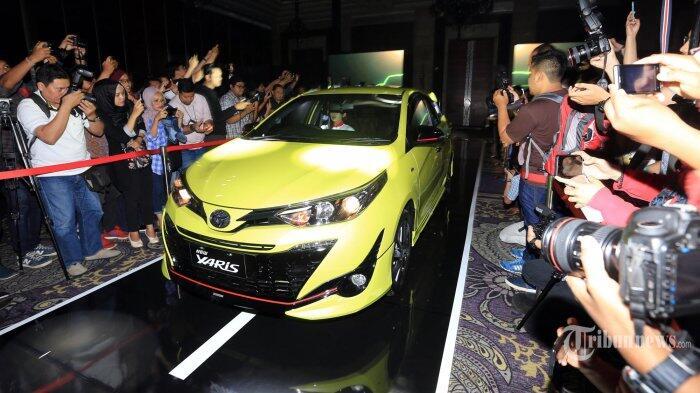 Inden Toyota Yaris di Jakarta Selama Sebulan