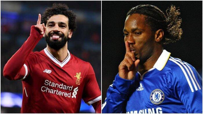 Mohamed Salah Ambil Alih Rekor yang Diukir Didier Drogba dalam Sejarah Liga Inggris