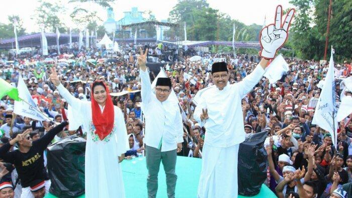 Mendung Adem Naungi Puluhan Ribu Warga di Kampanye Gus Ipul-Puti Soekarno