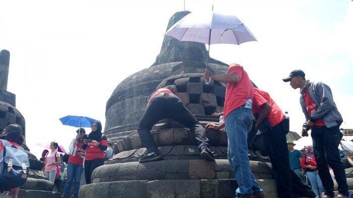 Jangan Asal Percaya Mitos, Ini Bahaya tak Terduga 'Merogoh' Stupa di Borobudur