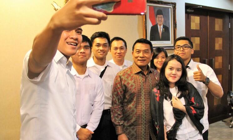 Bertemu KSP, GO Indonesia Bertekad Tebarkan Virus Optimisme