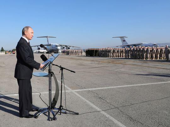 Putin: Jika Serangan ke Suriah Berlanjut, Tatanan Internasional Chaos