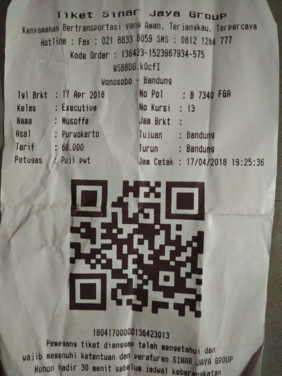 Komplain Ke Po Sinar Jaya Tidak Ada Tanggapan Di Duga Call Centernya